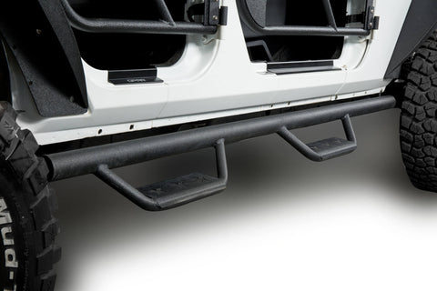 Jeep JK 4 door side steps nerf bars running boards for jeep wrangler jk jku bxg021