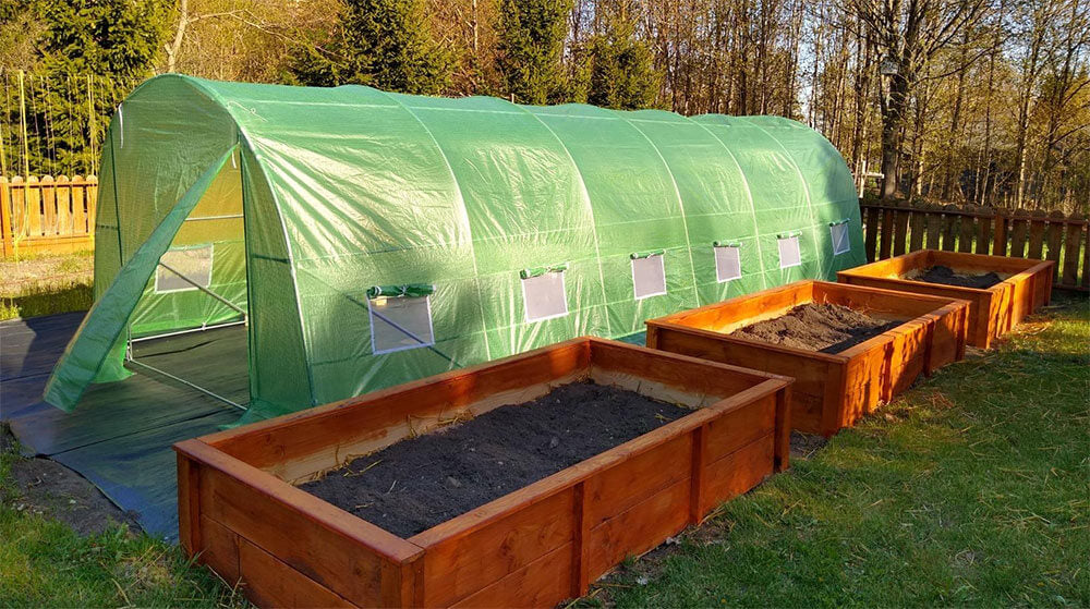 tunnel greenhouse for backyard