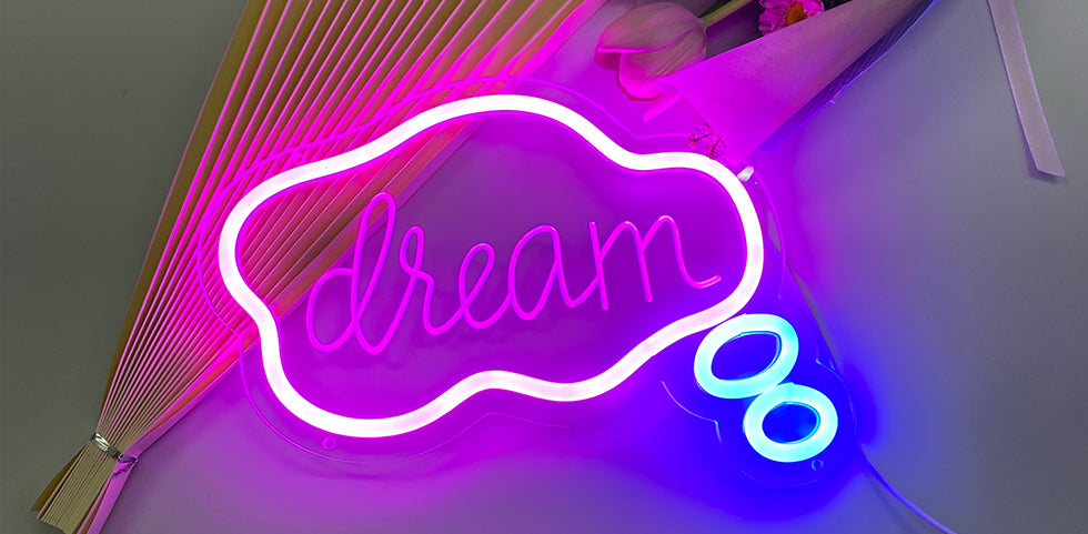 Dream neon signs