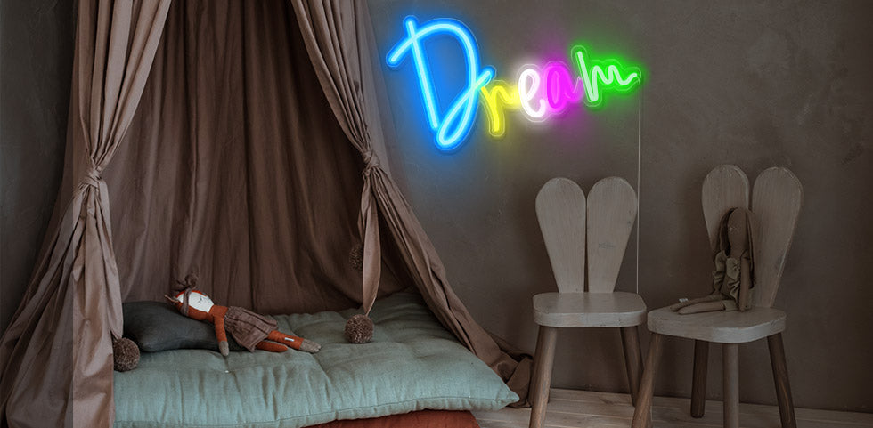 personalized neon sign