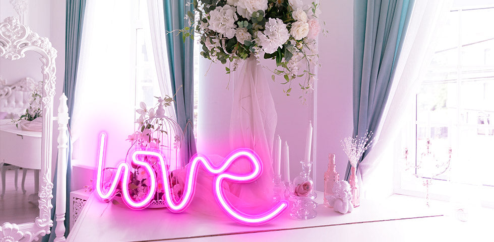 Love Neon Sign for lamps