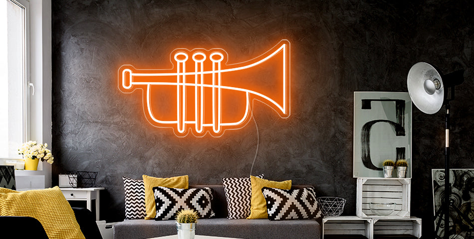 personalized Saxophone neon sign
