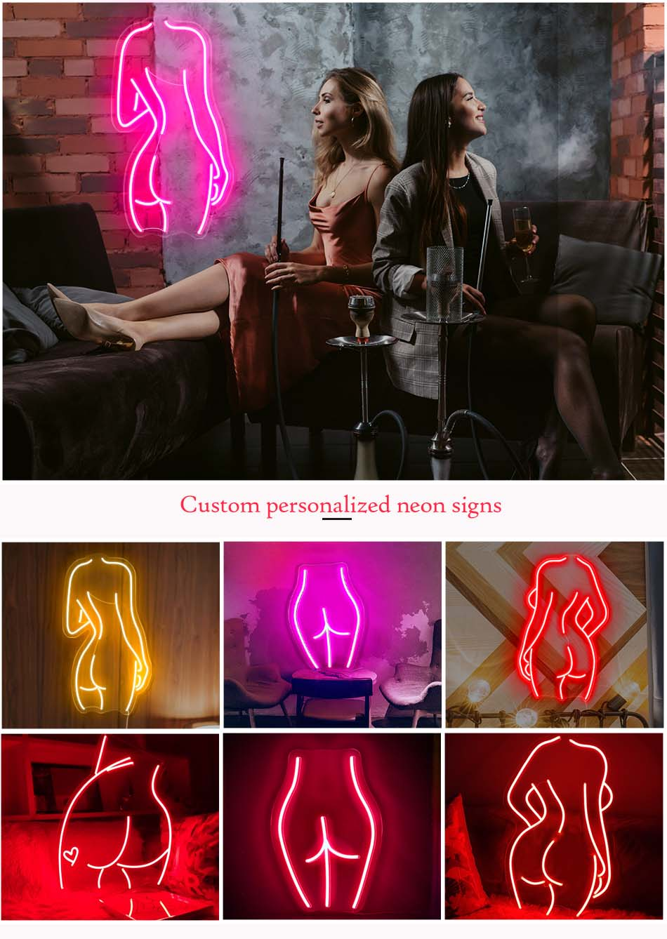 Nude neon signs