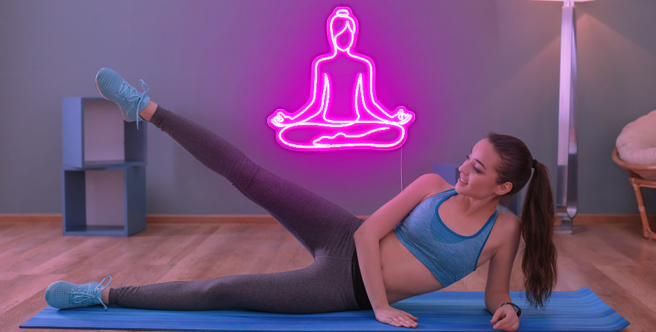 custom Yoga led neon sign