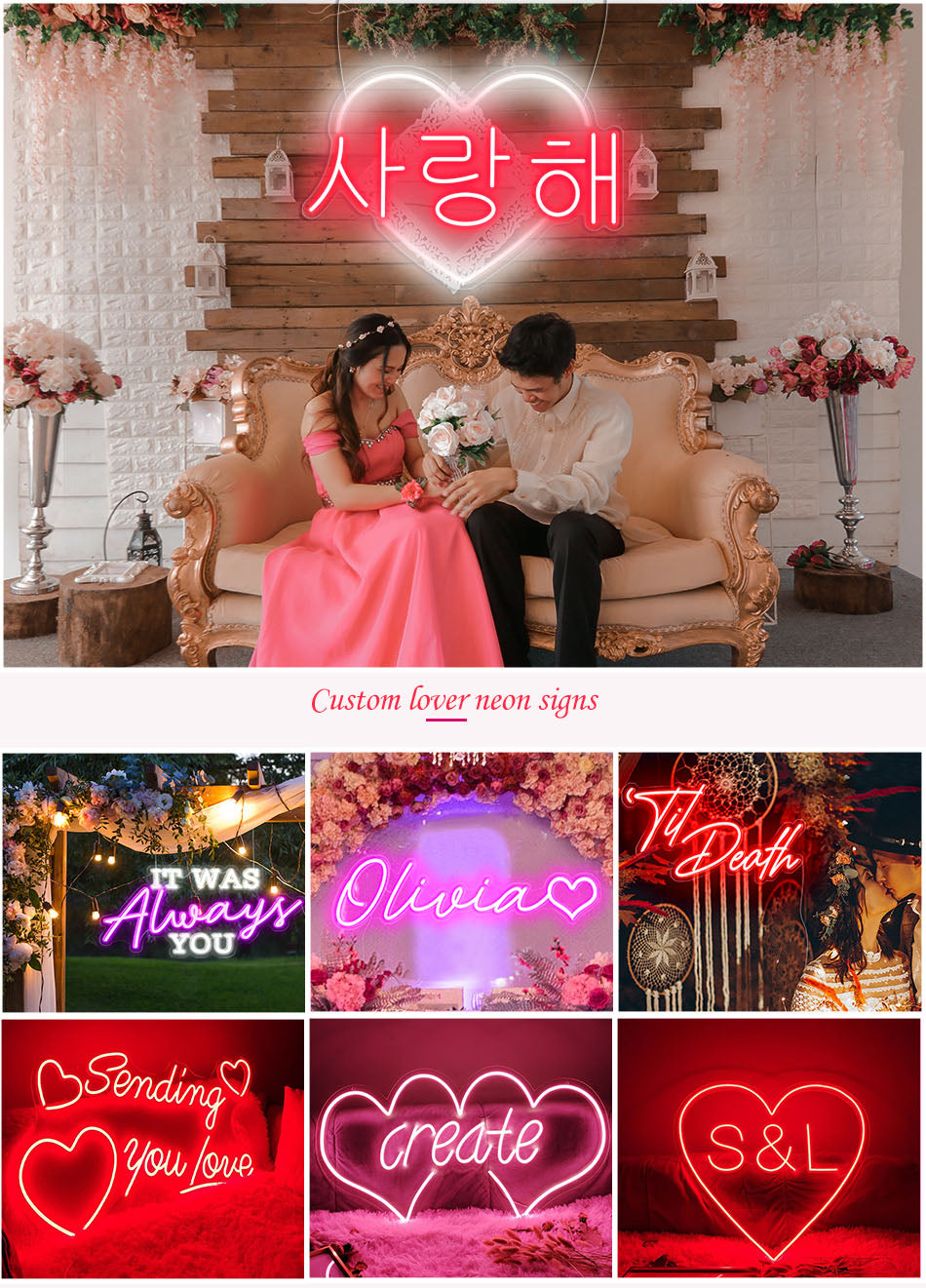 lover neon signs