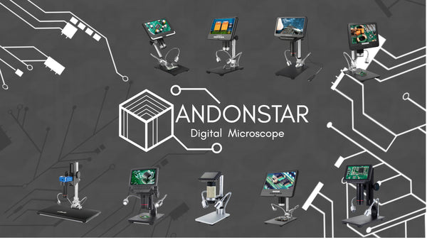 Andonstar digital microscope for PCB inspection industrial inspection