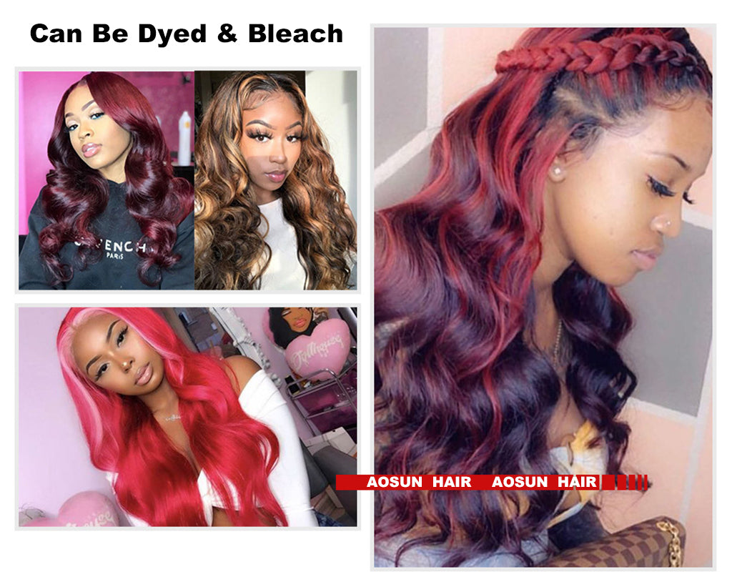 human hair lace wig body wave