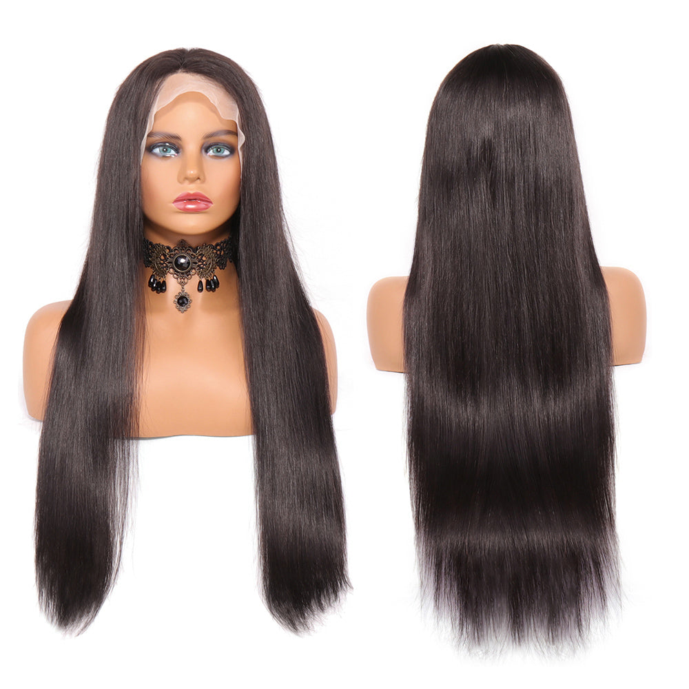 13x4 straight lace wig