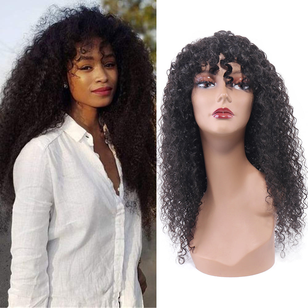 Curly Wave Human Hair Wigs