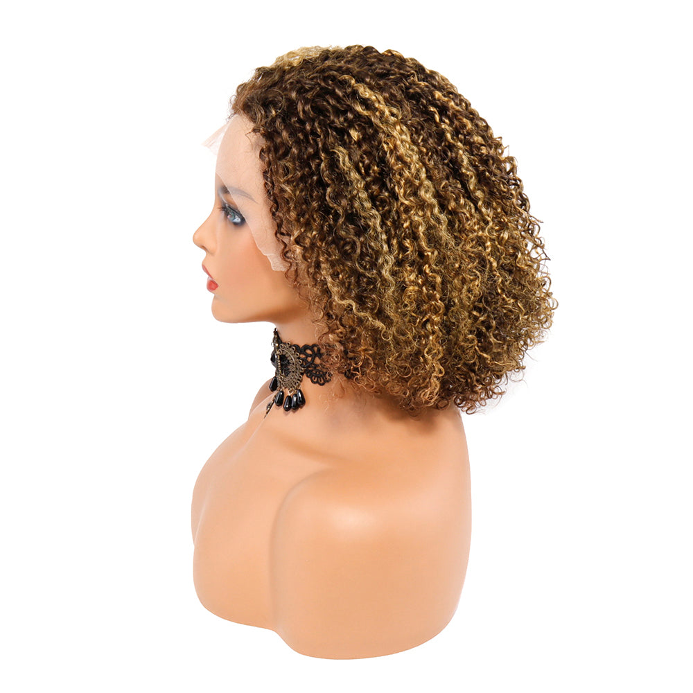 13x1 Short Curly Lace Wigs