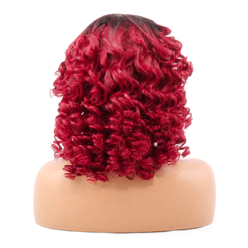 Romance Bouncy Curly Wig 1B/99J Color