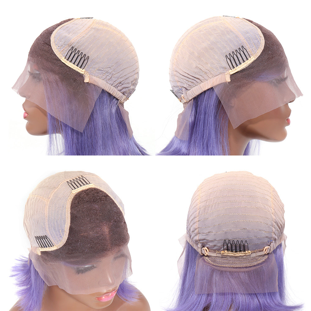 13x4 front lace straight wig