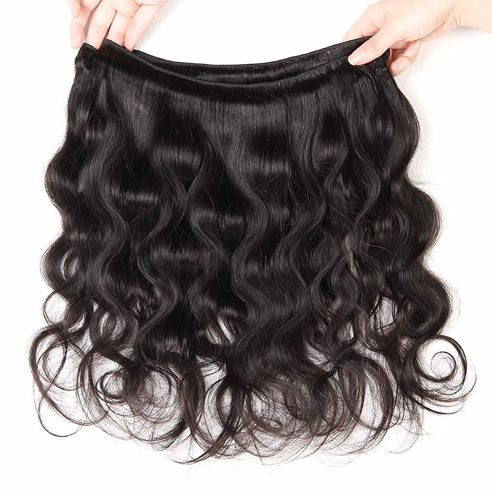 Double Drawn Natural Black Color Hair