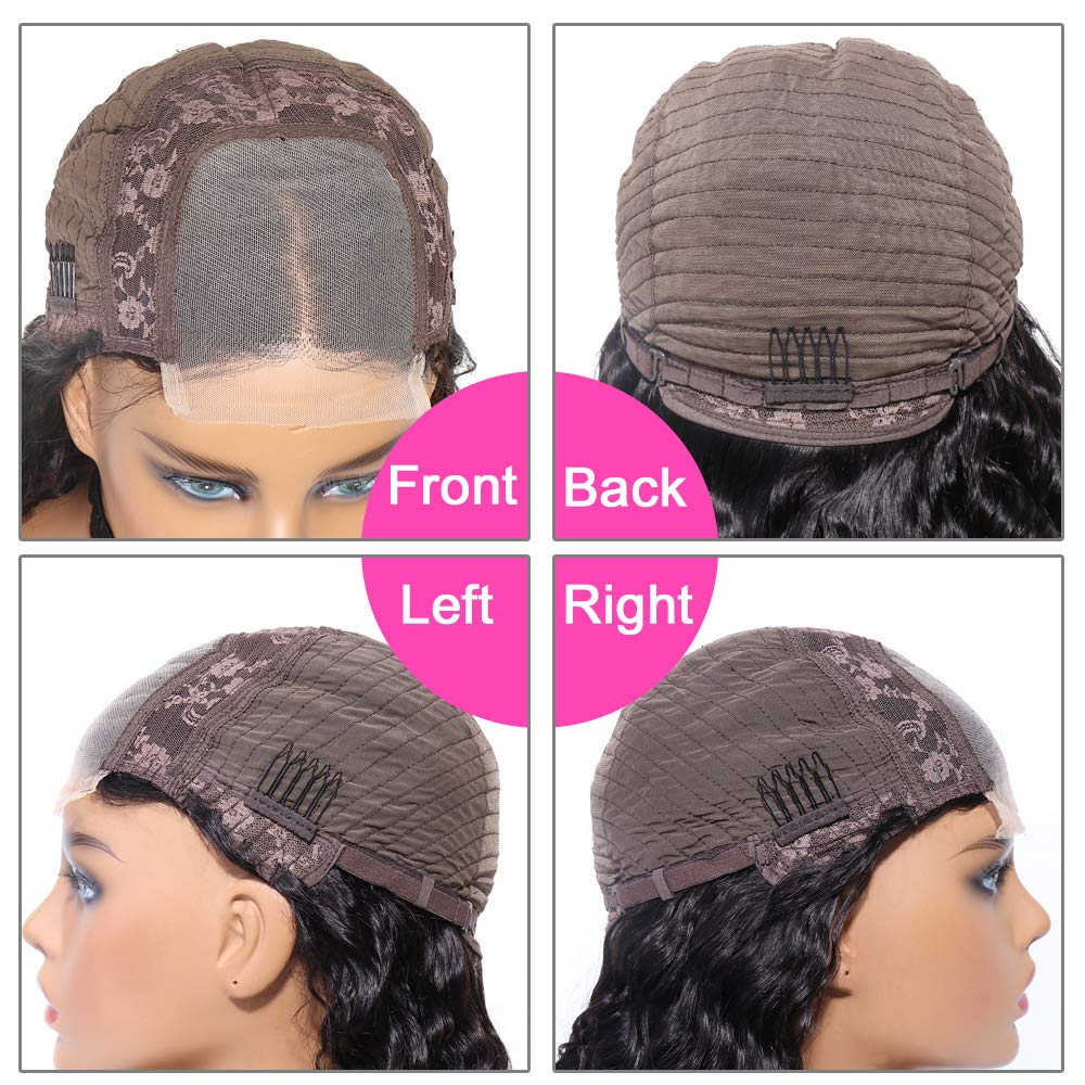 4x4 curly lace wig