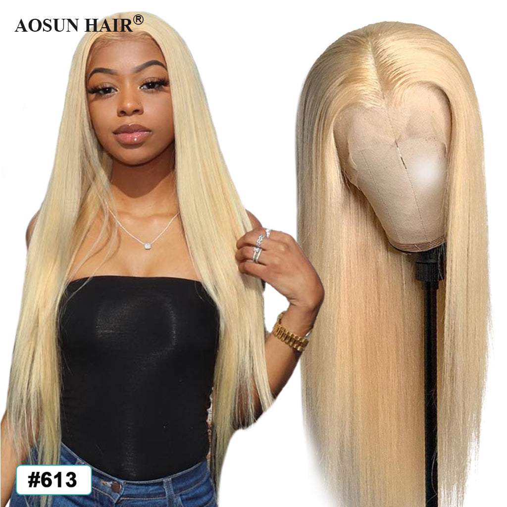 613 ftont lace wig straight