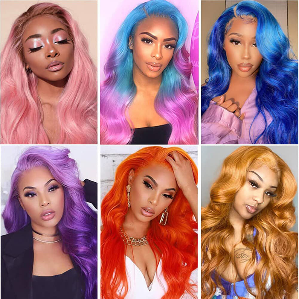 13x4 Body wave Blonde lace wig