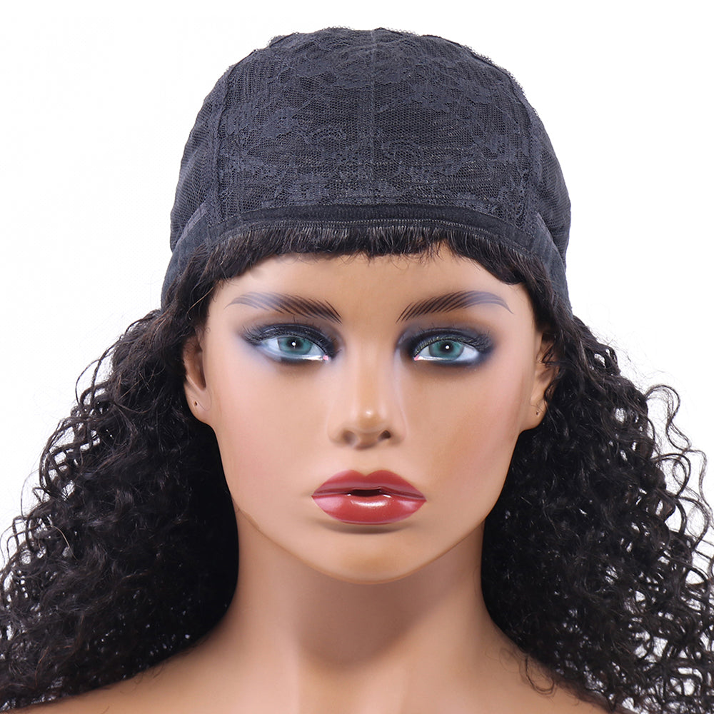 Deep Curly None Lace Front Wigs