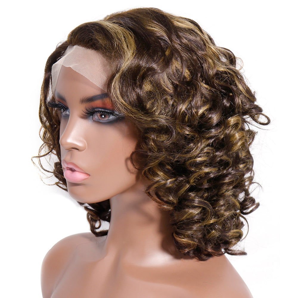 highlight 13x1 lace wig
