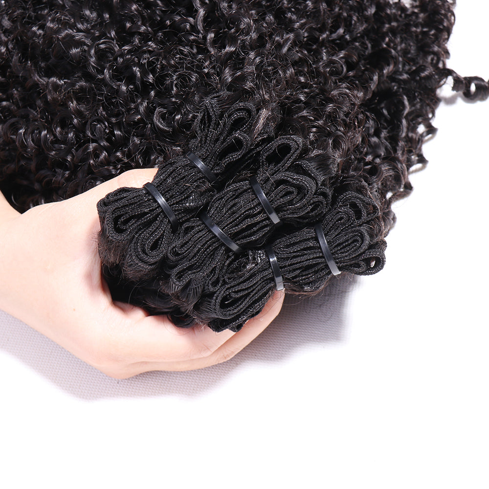 Fumi Curly Weft Extensions Weaves