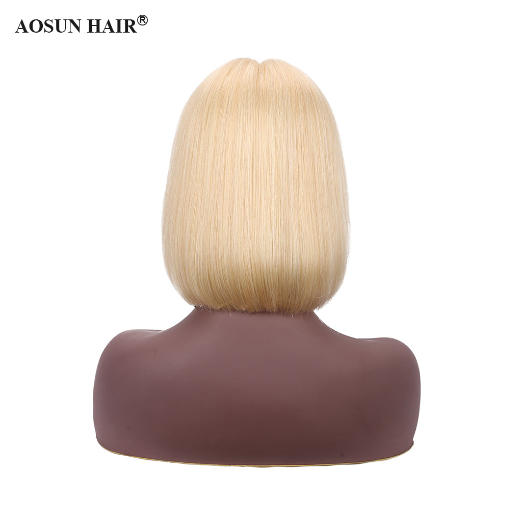 blonde front lace wig