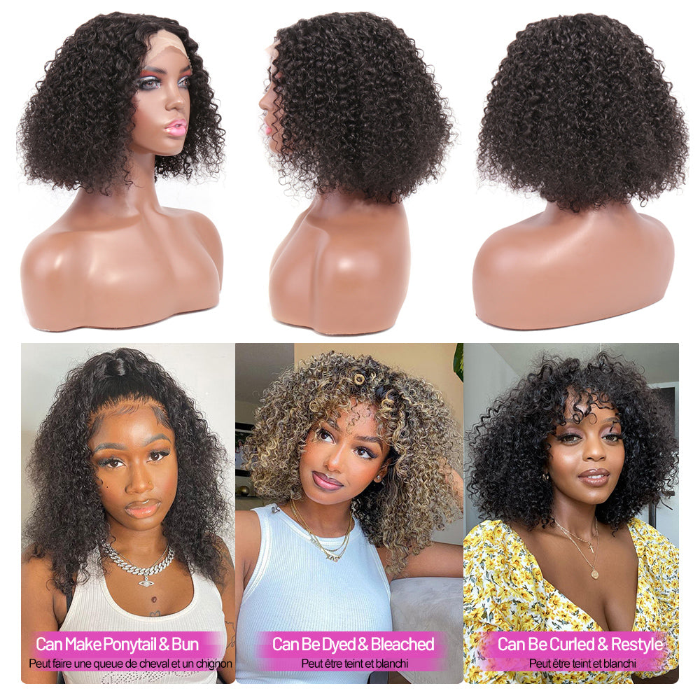 human hair t part lace wig