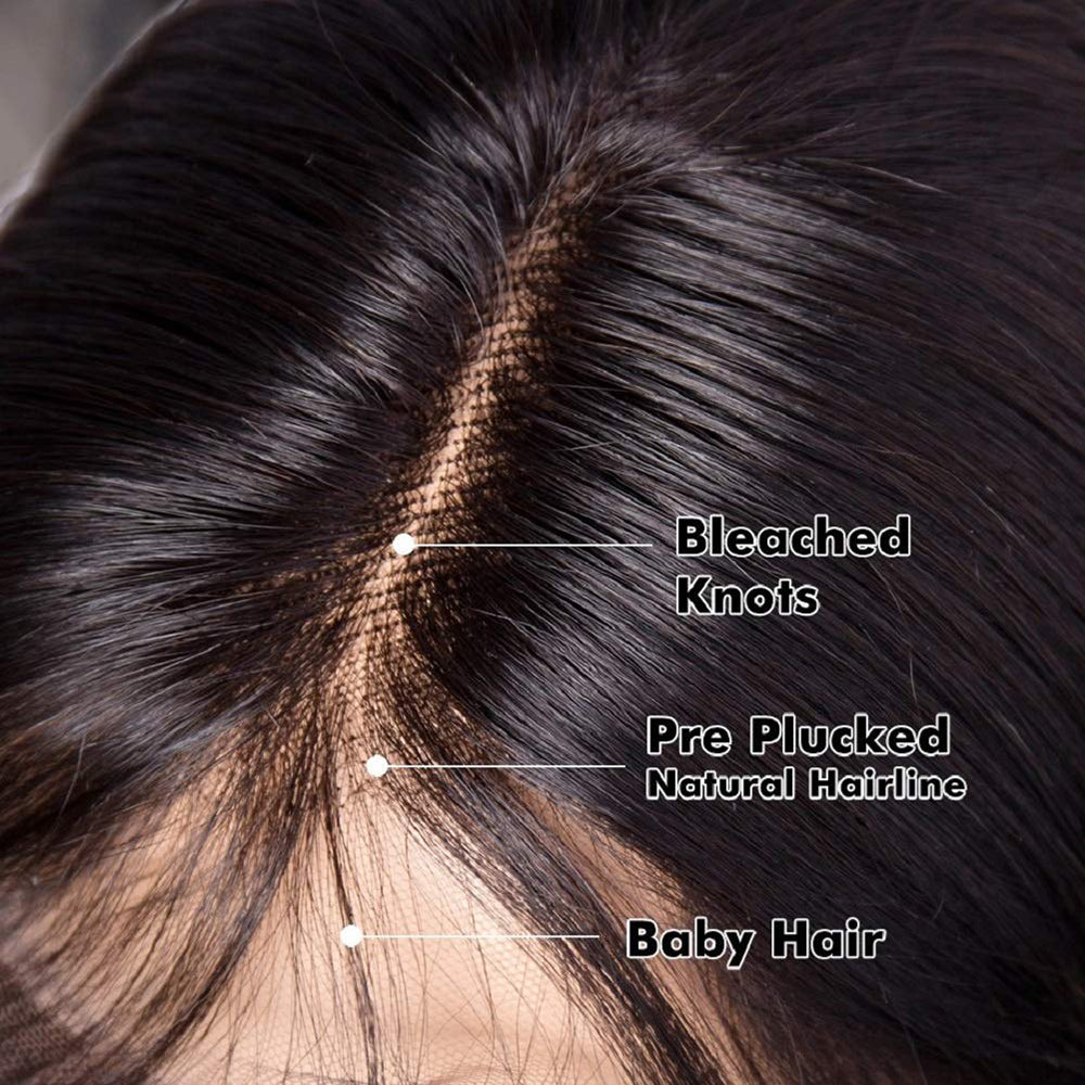 straight t part lace wig