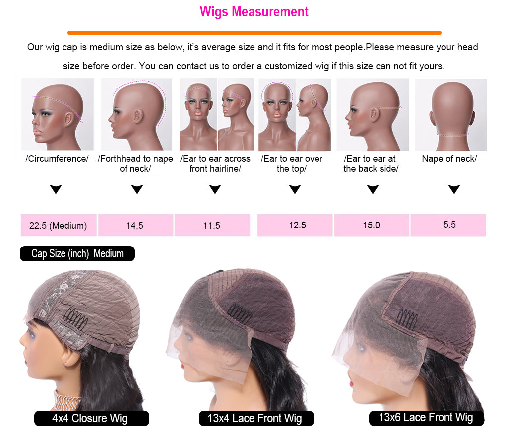 P4/27 Lace Frontal Wig