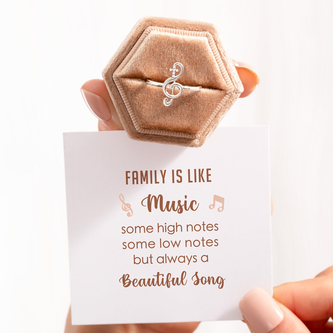 Music Ring - Family Is Like Music