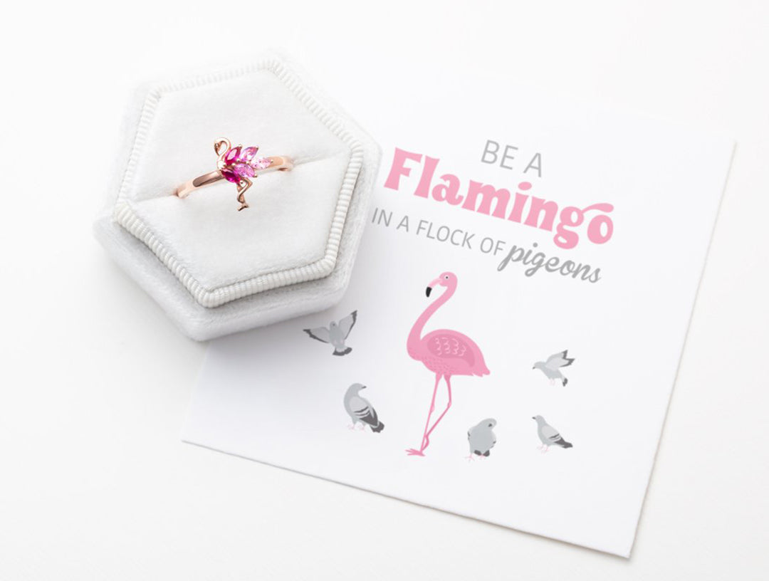 Be A Flamingo Ring