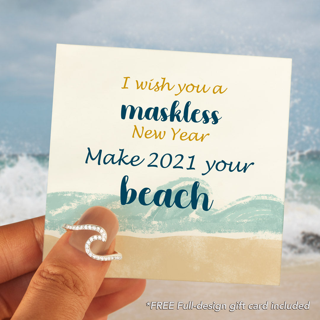 Wave Ring-Make 2021 Your Beach