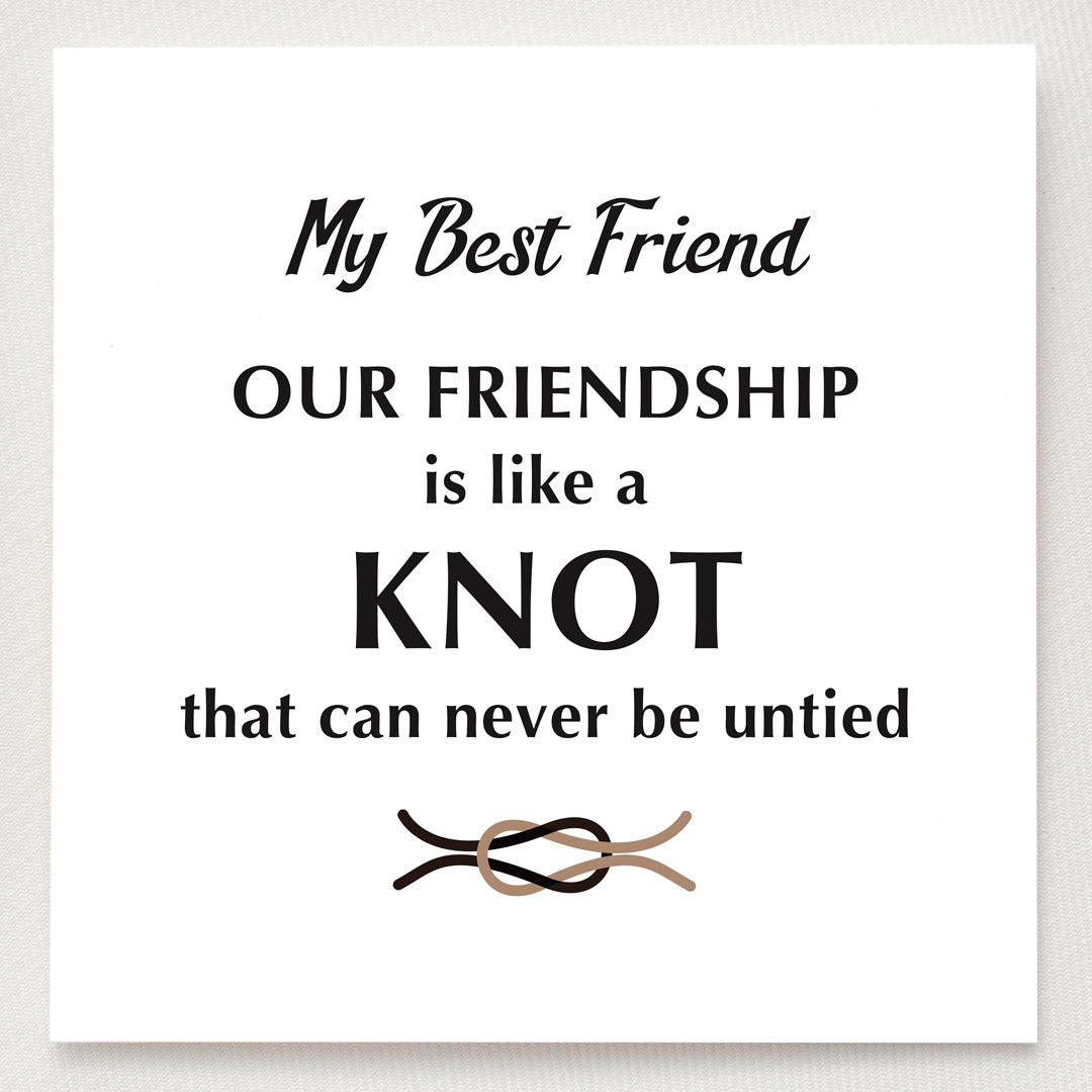 Friendship Love Knot Ring