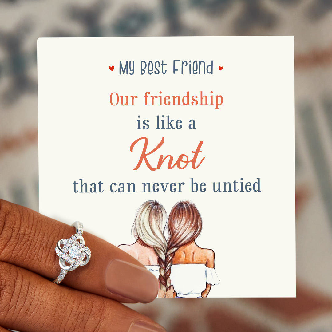 Knot Ring - Best Friends Endless