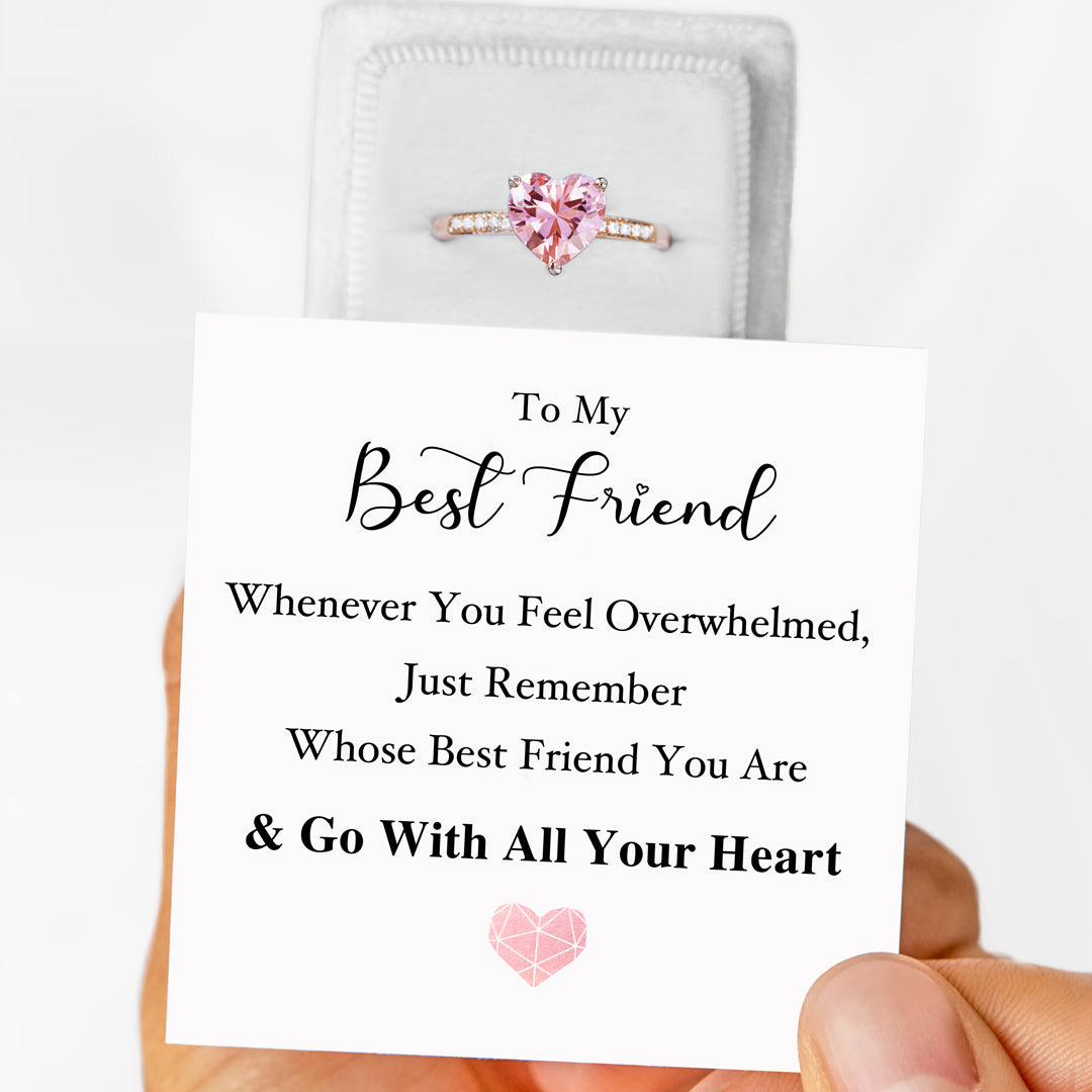 Solitaire Ring S925-Go With All Your Heart