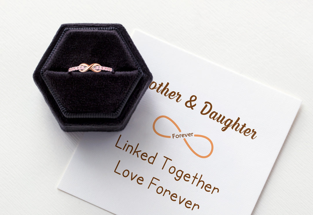 Infinity Ring - Linked Together Love Forever