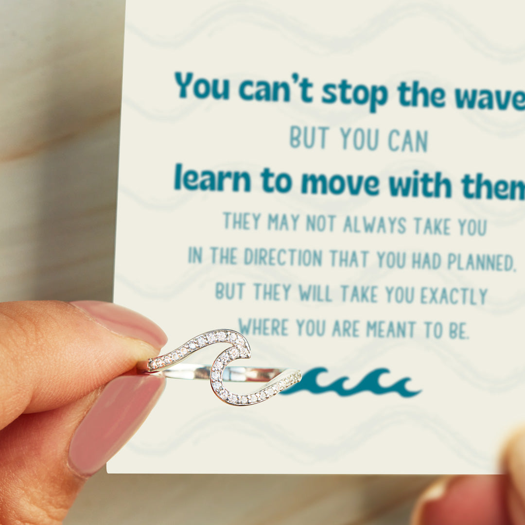 Move With The Wave Ring