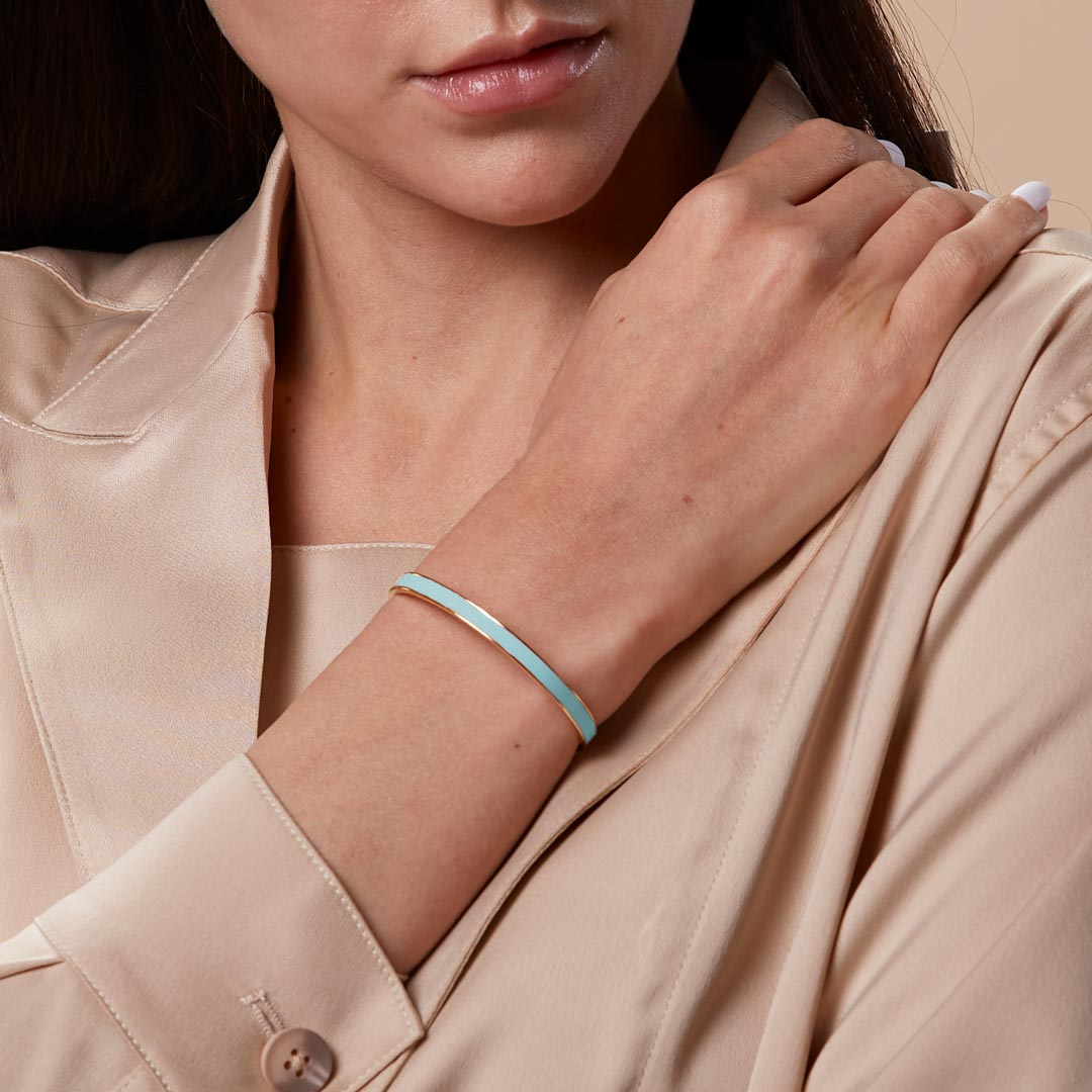 Meaningful Quotes Color Bangle Bracelet