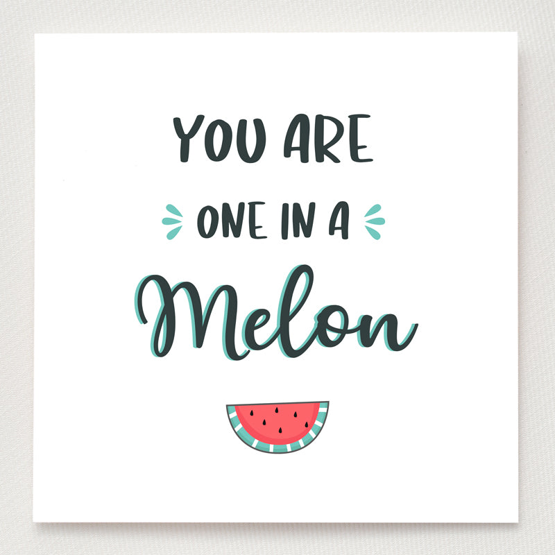 Watermelon Ring - You're One In A Melon