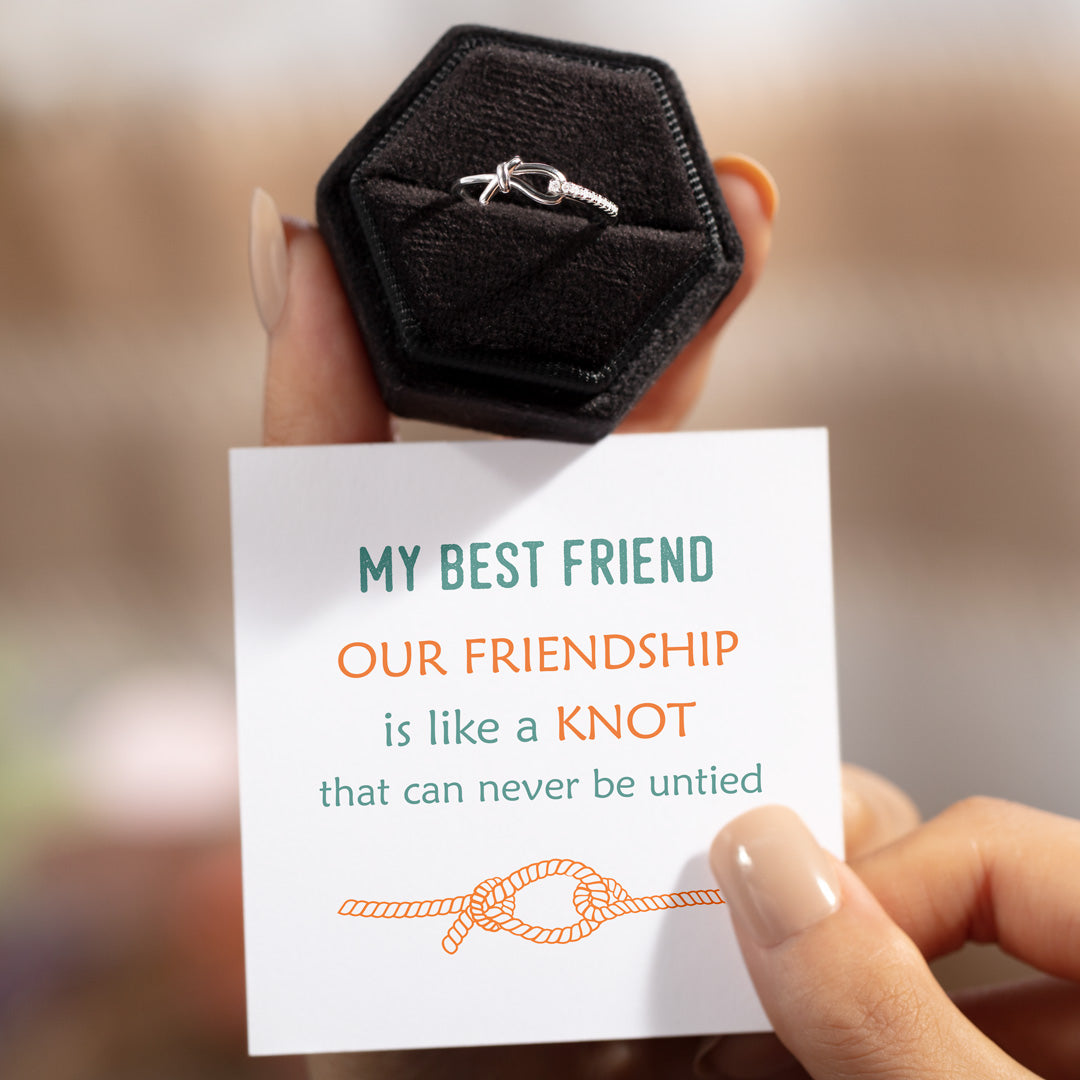 Hitch Knot Ring - Friendship