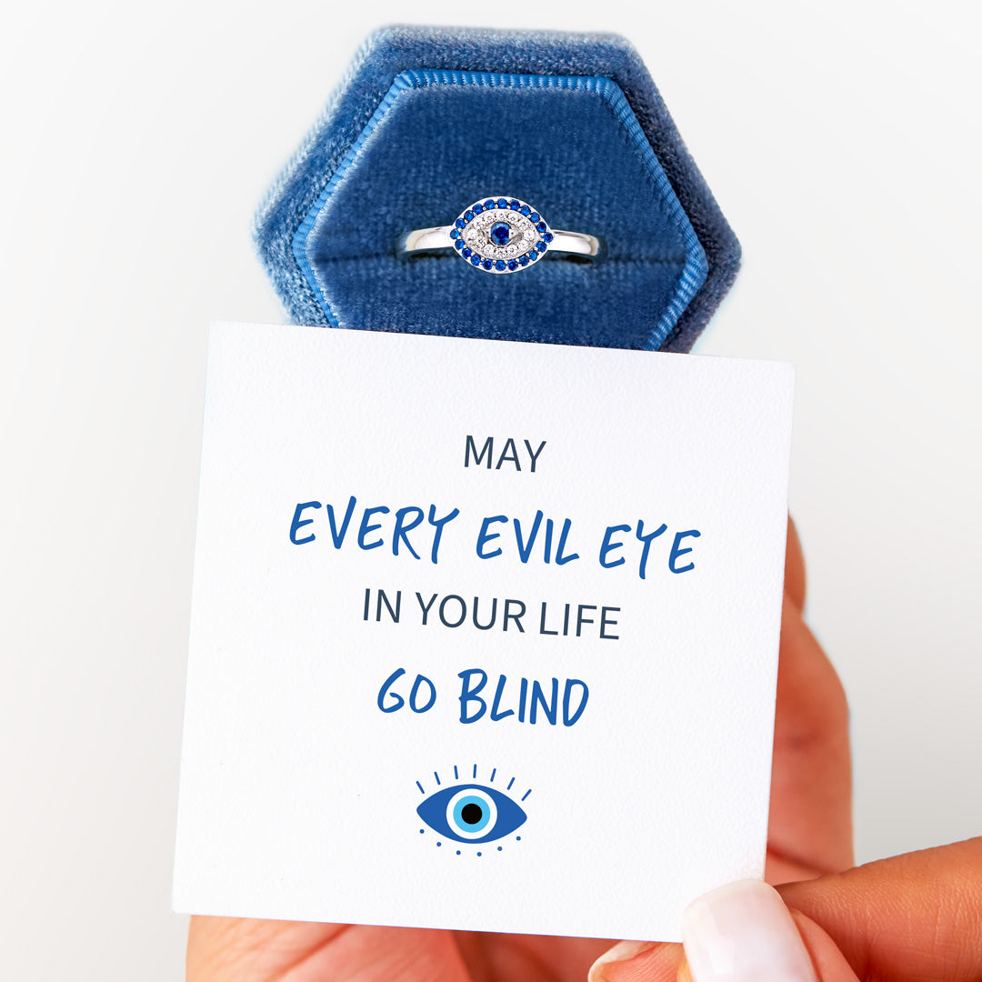May Every Evil Eye In Your Life Go Blind Ring
