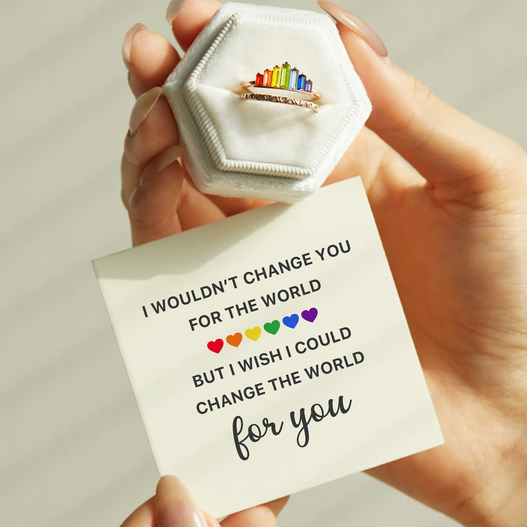 Rainbow Ring - I Would Change The World For You