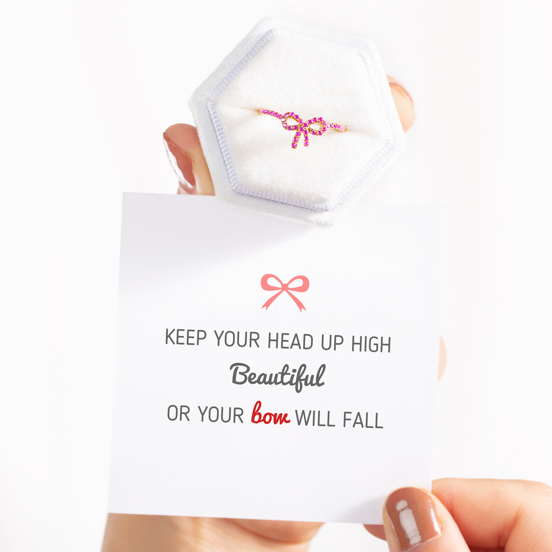 Bow Ring - Keep Your Head Up High
