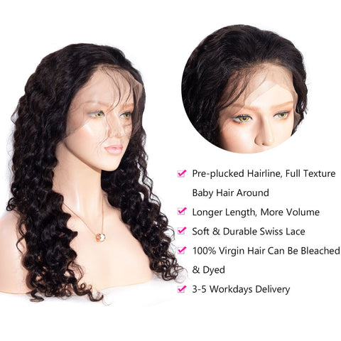 13×6 Lace Front Wig Loose Deep