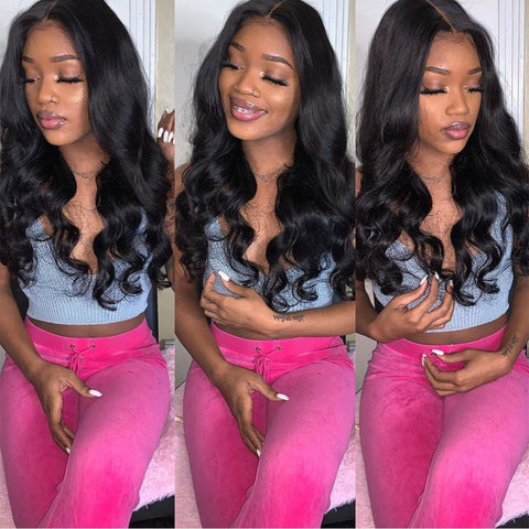 Body Wave 4×4 Lace Closure Wig