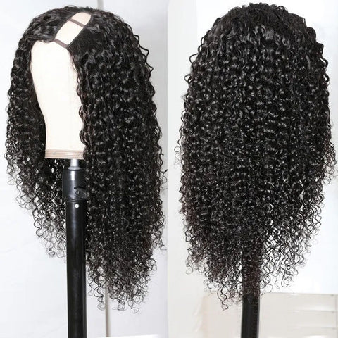 U Part Wig Jerry Curly