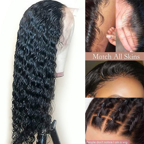 13×4 HD Lace Front Wigs Deep Wave