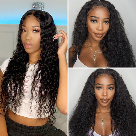 13×4 Lace Front Wigs Curly Hair