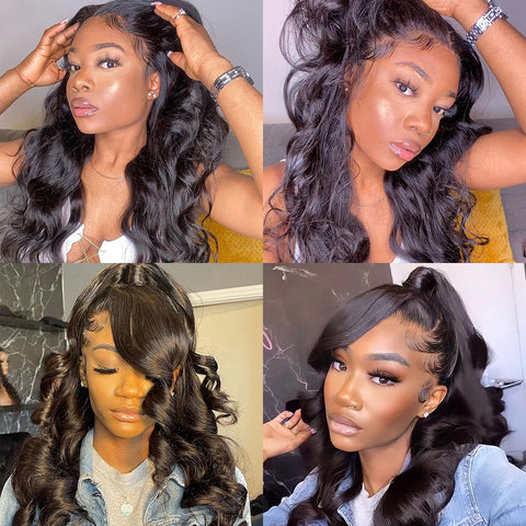 Body Wave 360 Lace Frontal Wigs