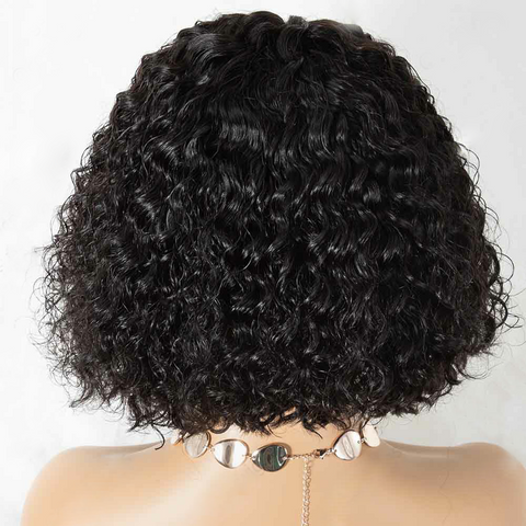 Jerry Curly Bob Wig-detail