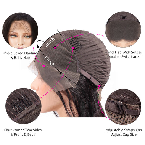 13×4 Lace Front Wigs