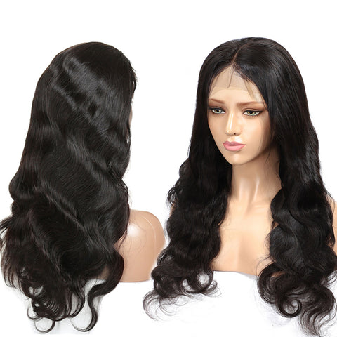 Body Wave Lace Front Wigs 250% High Density